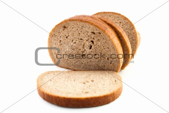 Slice of brown bread