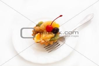Cake on plate