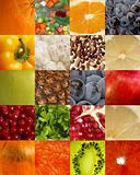 Background of fruits