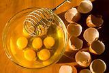 Omelette preparing