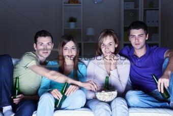 Viewing movies at home