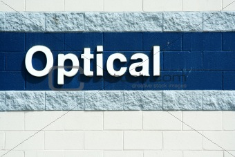 Optical sign