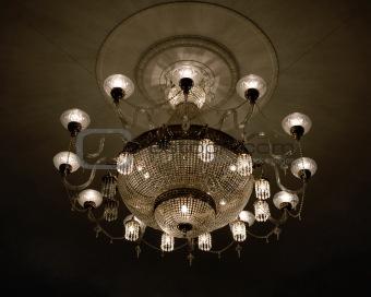 Glowing lustre