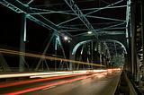Inside Torun bridge