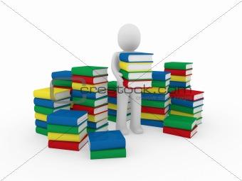 3d human book