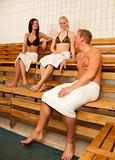 Friends in Sauna