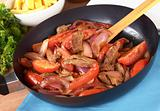 Peruvian Dish Called Lomo Saltado