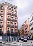 Building and street in Madrid