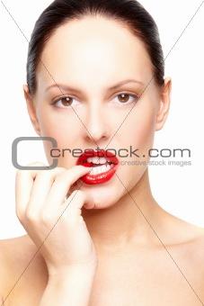 Feminine model