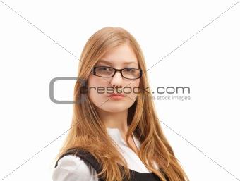 Portrait of beautiful business woman
