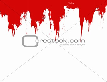 blood splat vector