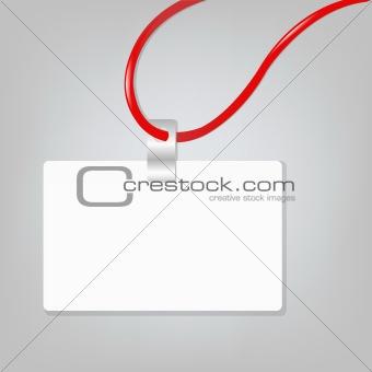 Blank Badge