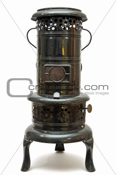 old kerosene burning space heater made In austria