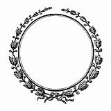 Blank decorative seal or stamp