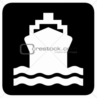 Ship or boat sign