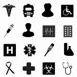 Medical and healthcare symbols