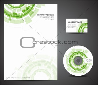 Design template set