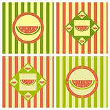 cute melon backgrounds