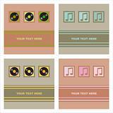 cute musical cards
