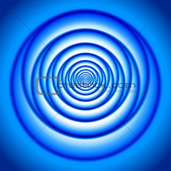 Abstract Blue vortex
