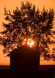 Sunset Saskatchewan Canada