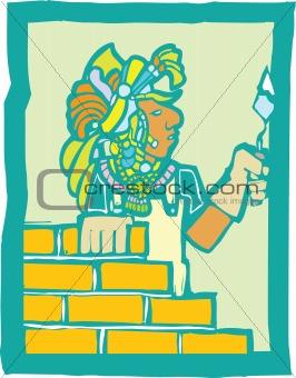 Mayan Bricklayer