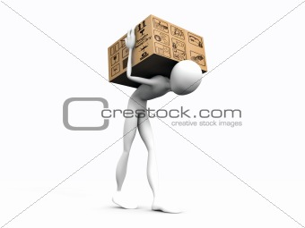 cardboard porter