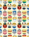 seamless people worker pattern