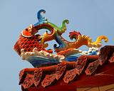 Chinese Temple Roof Decoration