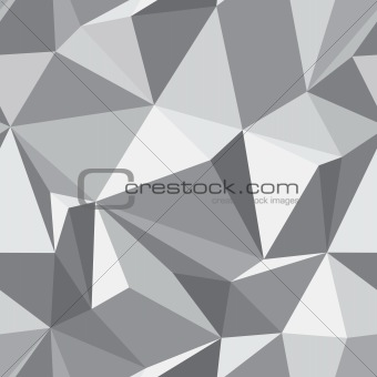 Abstract seamless texture - polygons background - vector