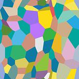 Abstract seamless texture -  color polygonal shapes
