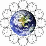 One hour around the World
