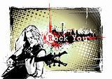 guitarist frame