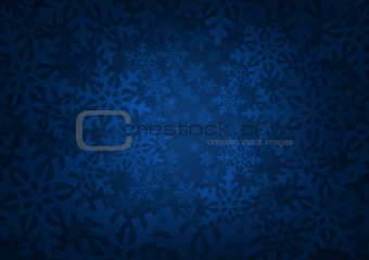 Background with snowflakes - Winter theme