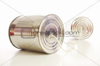 tin or can telephone