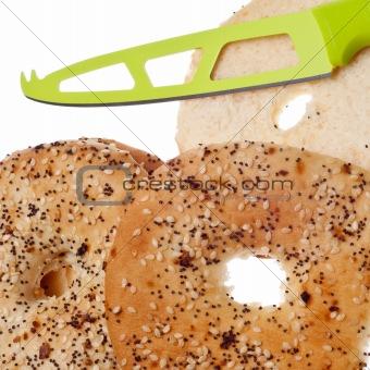 Sliced Everything Bagel