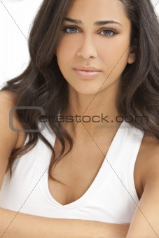 Beautiful Girl Young Hispanic Woman