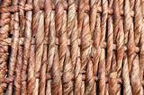 basket wickerwork close up