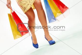During shopping