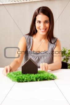 Green Living Concept