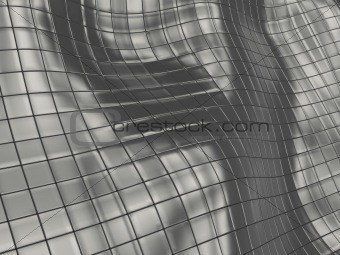 gray tiles background