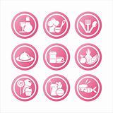 pink restaurant signs