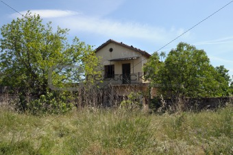 abandoned house