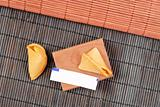 Asian Cuisine Fortune Cookie