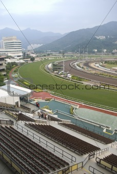 Horse track.