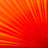 Red background with asterisk