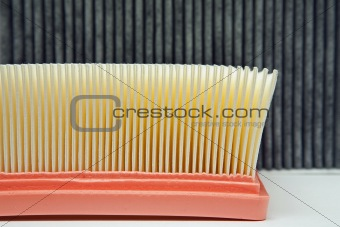 air filter and the cabin filter