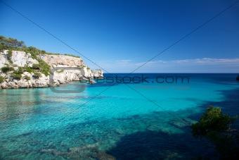 beautiful sea at Menorca