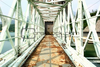 old rusty bridge