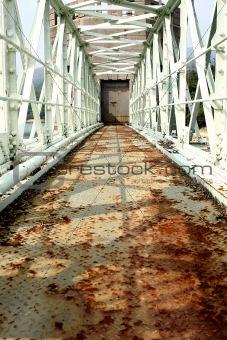 old rusty bridge